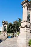 Plaza Catalunya Βαρκελώνη Στοκ Εικόνες