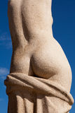 Plaza Catalunya Statue Detail Royalty Free Stock Images