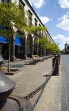 Plaza central Imagem de Stock Royalty Free