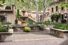 Plaza central, Tlaquepaque em Sedona, o Arizona Foto de Stock Royalty Free