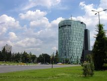 Plaza Charles De Gaulles - Bucharest, Rumänien Stockfotografie