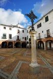 Plaza Chica, μικρό τετράγωνο, Zafra, επαρχία Badajoz, Εστρεμαδούρα, Ισπανία Στοκ Φωτογραφίες