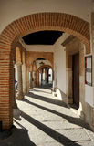 Plaza Chica, Small Square, Zafra, province of Badajoz, Extremadura, Spain Royalty Free Stock Photography