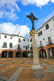Plaza Chica, Small Square, Zafra, province of Badajoz, Extremadura, Spain Royalty Free Stock Photography
