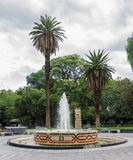 Plaza Chile Mendoza Argentina Stock Image