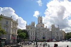 Plaza Cibeles στη Μαδρίτη Στοκ φωτογραφίες με δικαίωμα ελεύθερης χρήσης