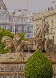 Plaza Cibeles στη Μαδρίτη Στοκ Εικόνα