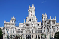 Plaza cibeles Stock Photo