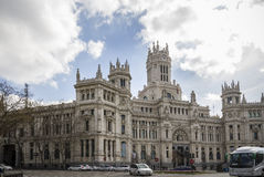 Plaza Cibeles, Madrid, Spain Stock Photo