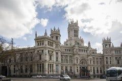Plaza Cibeles, Madrid, Spain Stock Photo