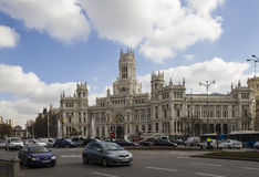 Plaza Cibeles, Madrid, Spain Stock Photos