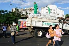 Plaza Civica - Neiva. La Colombia Immagini Stock Libere da Diritti
