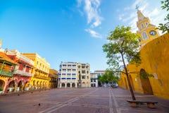 Plaza colonial Imagen de archivo libre de regalías