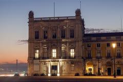 Plaza of Commerce in Lisbon. Lisbon, Portugal Stock Photos
