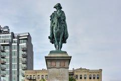 Plaza continental do exército, New York fotos de stock