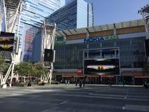 Plaza coreana de Nokia do centro de negócios Fotos de Stock