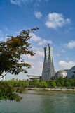 Plaza culturale del lago ad ovest Hangzhou fotografia stock libera da diritti