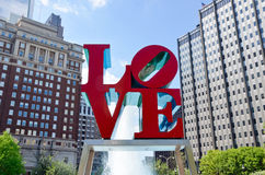 Plaza d'amour Images libres de droits