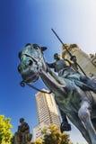 Plaza da Espanha no Madri, Espanha fotos de stock royalty free