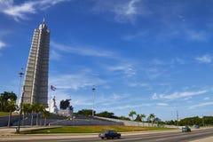 Plaza da revolução, Havana, Cuba, em novembro de 2014 Imagem de Stock Royalty Free