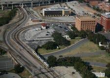 Plaza Dallas il Texas di Dealey Fotografie Stock Libere da Diritti