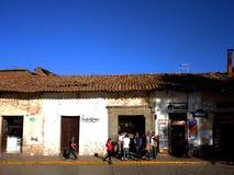 Plaza dans Cusco, Pérou photo libre de droits