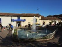 Plaza dans Cusco, Pérou photographie stock libre de droits