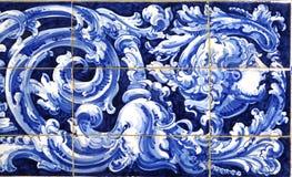 从Plaza de西班牙,塞维利亚,背景的Azulejos细节 库存图片