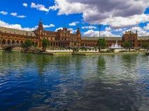 Plaza de西班牙,塞维利亚(2) 免版税库存照片