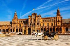 plaza de西班牙 塞维利亚西班牙 库存照片