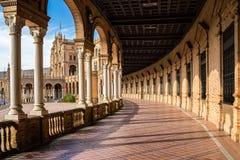 plaza de西班牙 塞维利亚 西班牙 库存图片