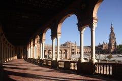 plaza de西班牙 塞维利亚 免版税图库摄影