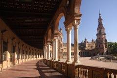 plaza de西班牙 塞维利亚 库存图片