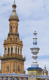 plaza de Ησπανία Στοκ εικόνα με δικαίωμα ελεύθερης χρήσης