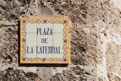 Plaza de Λα Catedral Στοκ Εικόνες