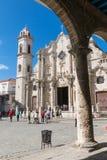 Plaza de Λα Catedral English: Το τετράγωνο καθεδρικών ναών είναι ένα από το φ Στοκ Φωτογραφία