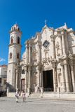 Plaza de Λα Catedral English: Το τετράγωνο καθεδρικών ναών είναι ένα από το φ Στοκ Εικόνες