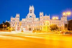Plaza de Λα Cibeles Μαδρίτη Στοκ φωτογραφία με δικαίωμα ελεύθερης χρήσης