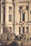 Plaza de Λα Cibeles Cybele ` s πλατεία - κεντρικό ταχυδρομείο PAL Στοκ Εικόνες