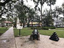 Plaza de Λα Constitucion, ST Augustine, Φλώριδα Στοκ Εικόνα