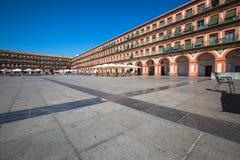 Plaza de Λα Corredera - πλατεία Corredera στην Κόρδοβα, Ανδαλουσία, Στοκ Φωτογραφία