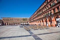 Plaza de Λα Corredera στην Κόρδοβα, Ισπανία. Στοκ Εικόνες