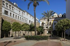 Plaza de Λα Iglesia Marbella, Ανδαλουσία, Ισπανία Στοκ Φωτογραφίες