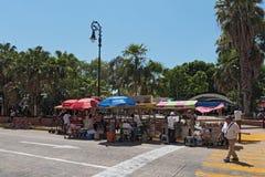 Plaza de Λα independencia το φεστιβάλ Μέριντα ο EN Domingo, Μέριντα, Μεξικό οδών Στοκ εικόνες με δικαίωμα ελεύθερης χρήσης