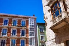 Plaza de Λα Libertad τετραγωνική Καστίλλη Ισπανία του Burgos Στοκ Εικόνες