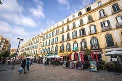 Plaza de Λα Merced, Μάλαγα, Ισπανία Στοκ Φωτογραφία