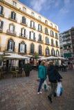 Plaza de Λα Merced, Μάλαγα, Ισπανία Στοκ φωτογραφίες με δικαίωμα ελεύθερης χρήσης