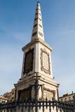 Plaza de Λα Merced, Μάλαγα &#x28 οβελίσκων spain&#x29  Στοκ Φωτογραφίες