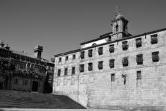 Plaza de Λα Quintana, Σαντιάγο de Compostela Στοκ φωτογραφίες με δικαίωμα ελεύθερης χρήσης