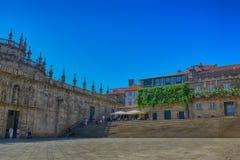Plaza de Λα Quintana, Σαντιάγο de Compostela Στοκ Φωτογραφίες